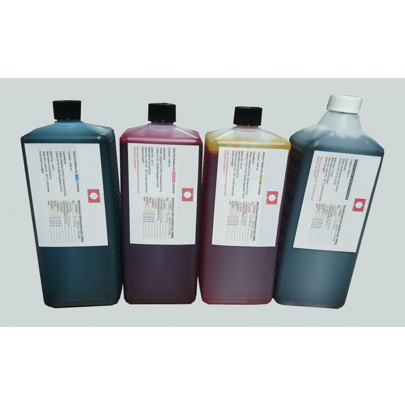 1L d'Encre Alimentaire Noire pour Canon et HP - refillsupermarket.com
