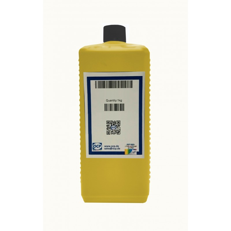 1L OCP ink for HP 62 Yellow 1kg (Y149) - refillsupermarket