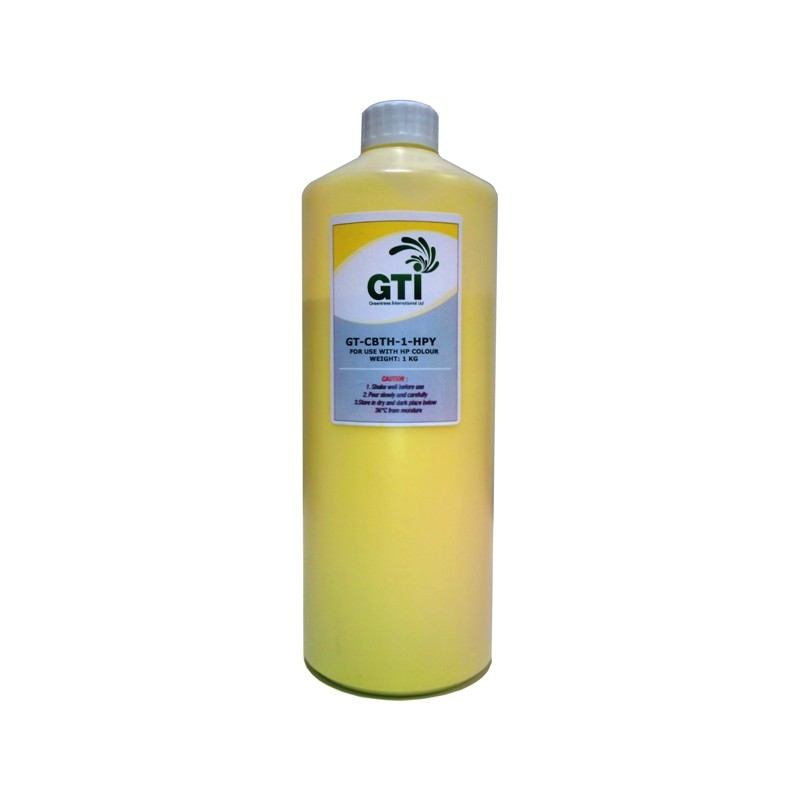 Tonerpulver 1kg für Samsung CLP 4072 Gelb - refillsupermarket