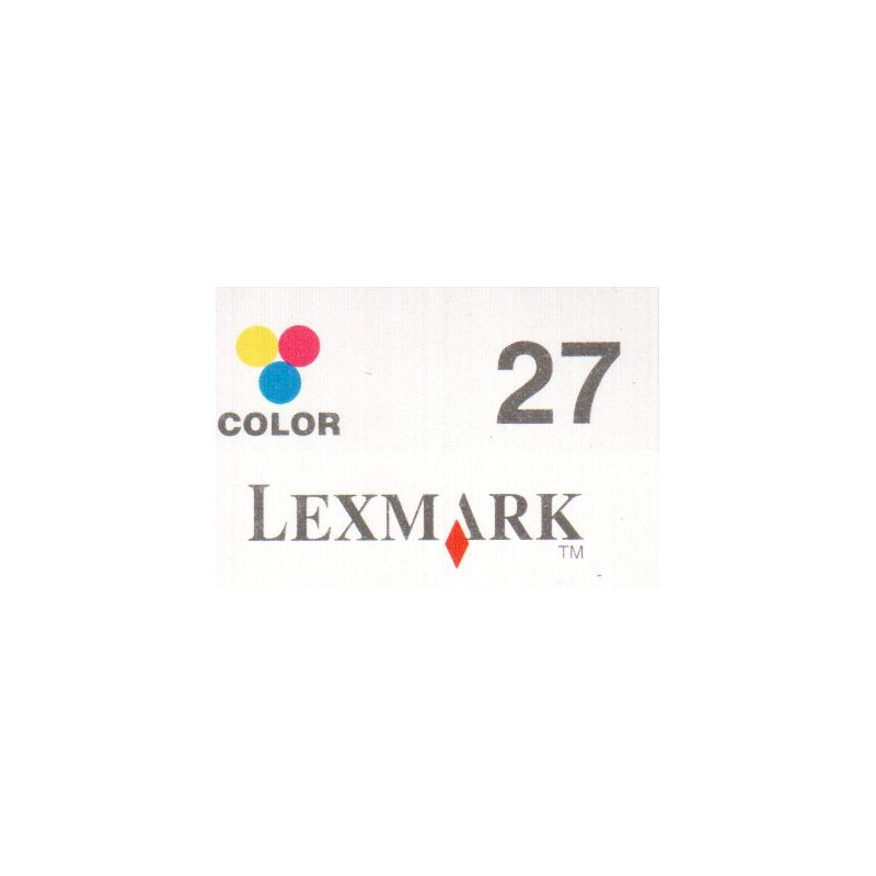 1 sheet labels for Lexmark 27  (42 per sheet) - refillsupermarket