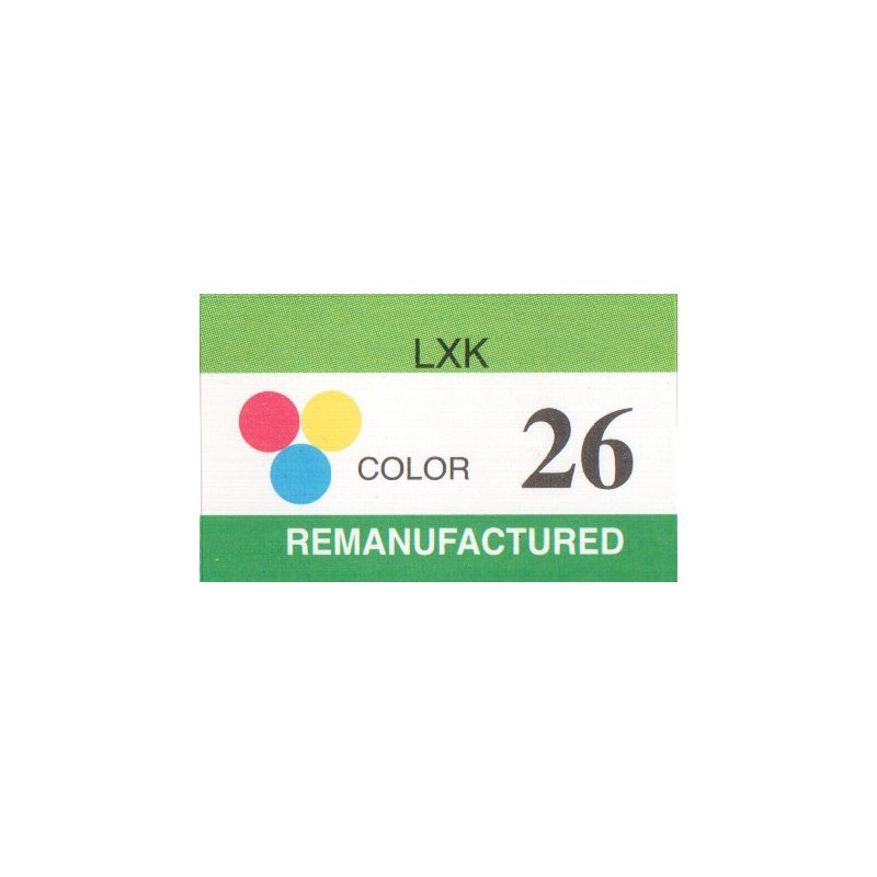 1 sheet labels for Lexmark 26  (42 per sheet) - refillsupermarket