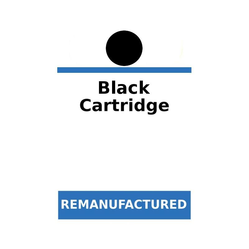 1 Feuille de 72 labels génériques pour cartouches HP Noir - refillsupermarket.com