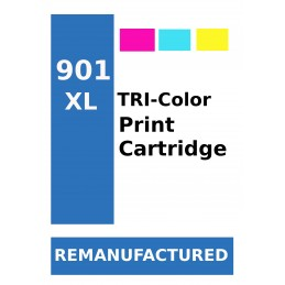 1 sheet labels for HP 901XL...