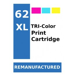 Labels for HP62 Colour XL...