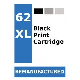 Labels for HP 62 Black XL...
