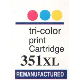 1 sheet labels for HP351XL...