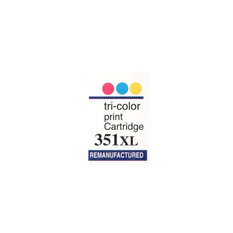 1 sheet labels for HP351XL  (72 per sheet) - refillsupermarket
