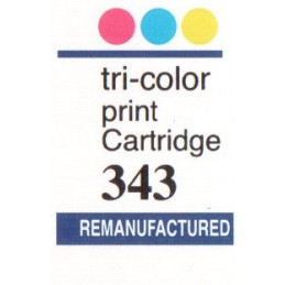 1 sheet labels for HP343...
