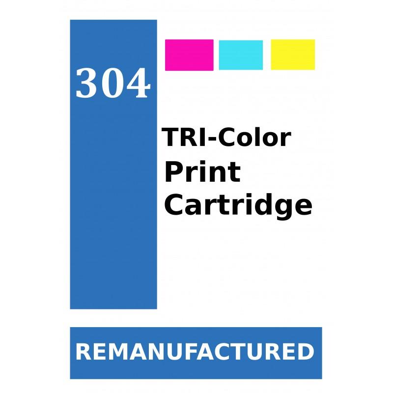 Labels for HP 304 Colour (72 labels per sheet) - refillsupermarket