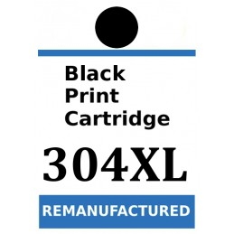 Labels for HP 304 XL Black...