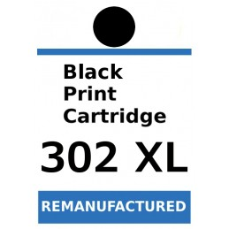 Labels for HP 302 XL Black...