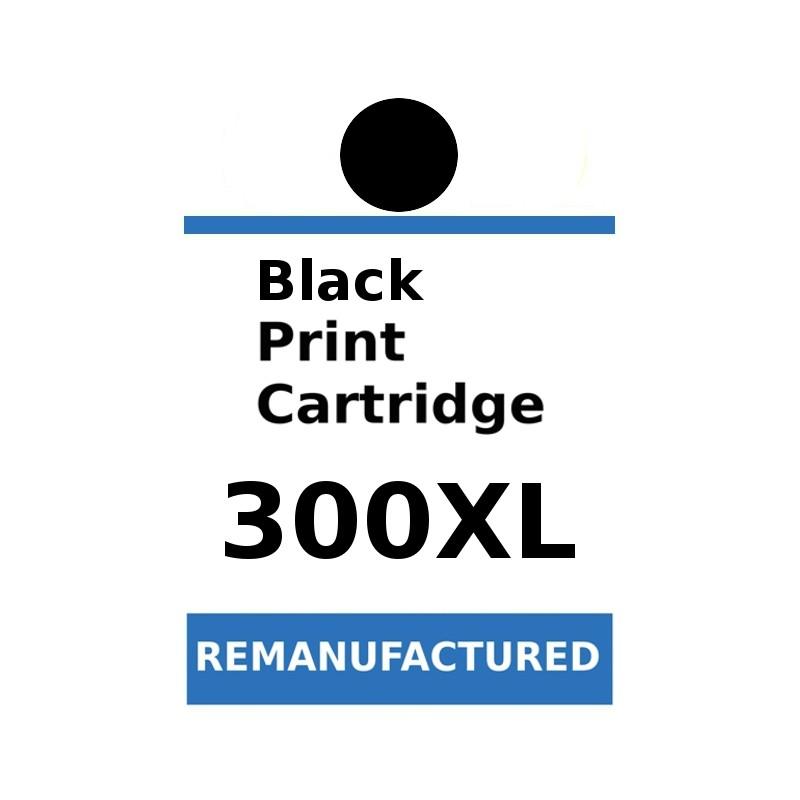 1 sheet labels for HP 300XL Black (72 labels) - refillsupermarket