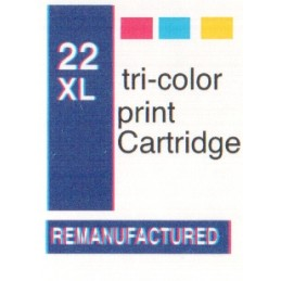 1 sheet labels for HP22XL...