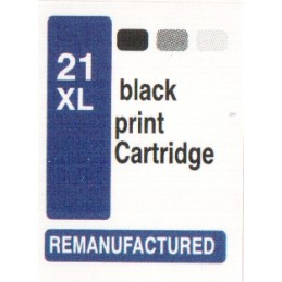 1 sheet labels for HP21XL...