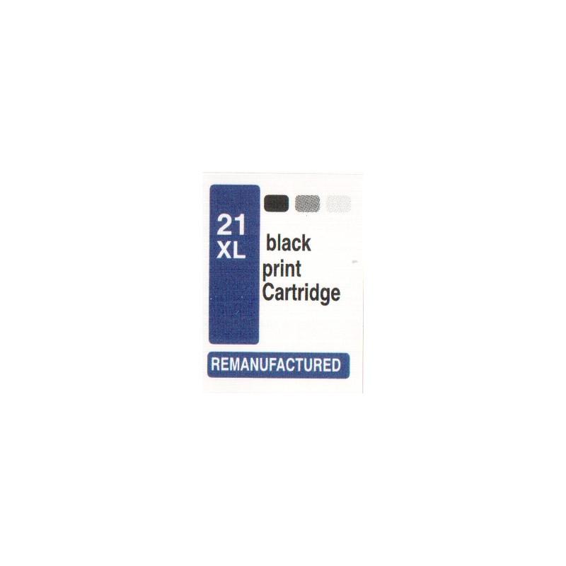 1 sheet labels for HP21XL (72 per sheet) - refillsupermarket