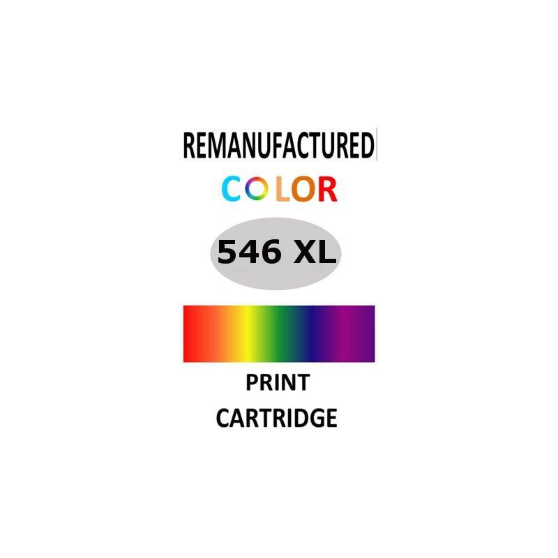1 sheet labels for Canon CL-546 XL (64 labels) - refillsupermarket