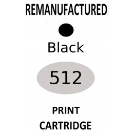 1 sheet labels for Canon PG-512 (64 labels) - refillsupermarket