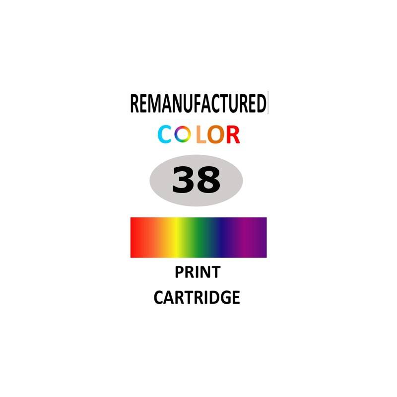 1 sheet labels for Canon 38  (64 per sheet) - refillsupermarket