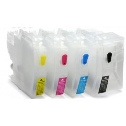 LC3219 LC3217 Refillable Cartridges One Time Chip - refillsupermarket