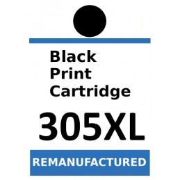 Labels for HP 305XL Black...