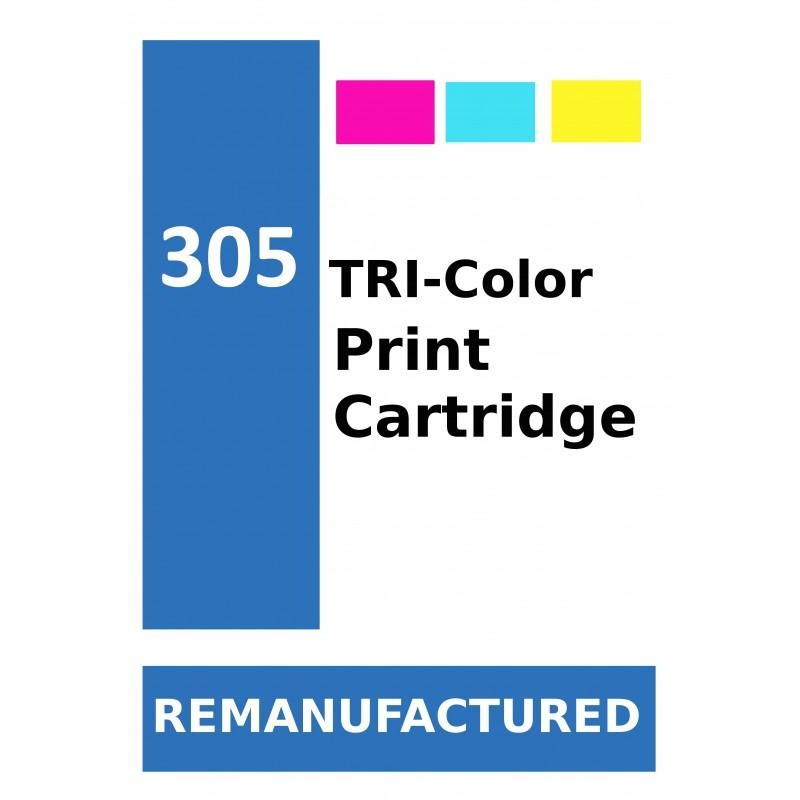 Labels for HP 305 Colour (72 labels per sheet) - refillsupermarket