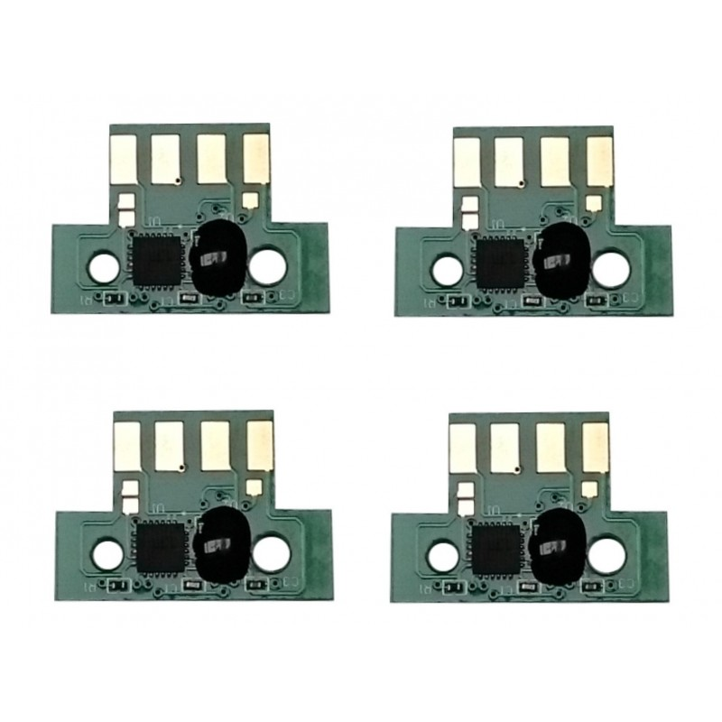 Lexmark 74C0S High Capacity Chip Set CMYK CS720. Stock on Demand - refillsupermarket